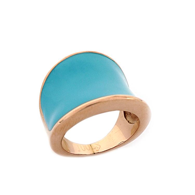 Jools Δαχτυλίδι από Ροζ Επιχρυσωμένο Ατσάλι GU83.1  c3e423cc302