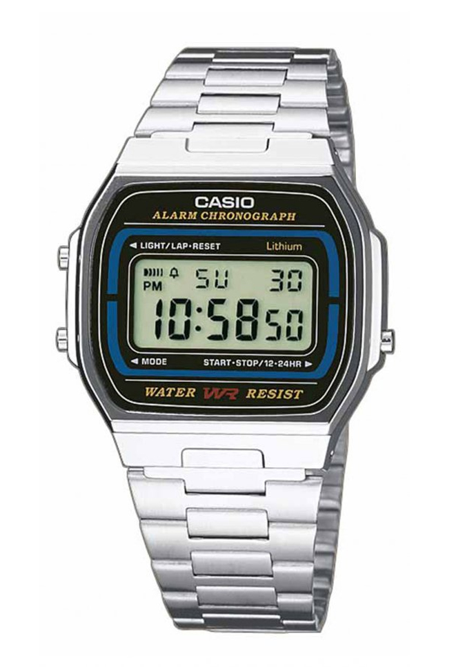 CASIO Collection Stainless Steel Bracelet A-164WA-1VES