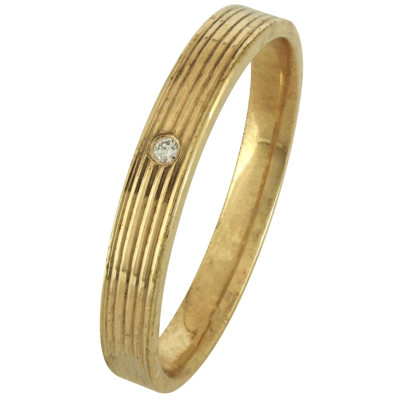 Ασημένια Βέρα Γάμου Επιχρυσωμένη με ή χωρίς Πέτρες WRS177