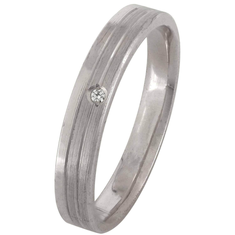 Ασημένια Βέρα Γάμου με ή χωρίς Πέτρες WRS171W