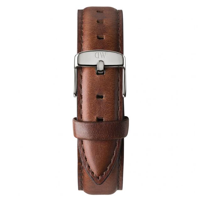 Λουράκι DANIEL WELLINGTON Classic St. Mawes Silver 36mm 0807DW