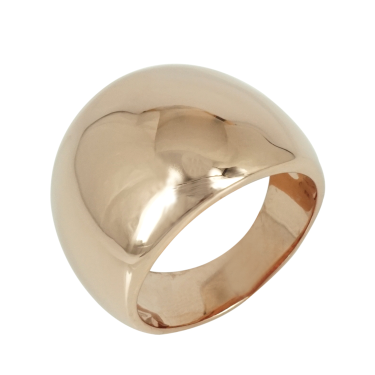 Luxenter Δαχτυλίδι από Ροζ Επιχρυσωμένο Ατσάλι LUX124