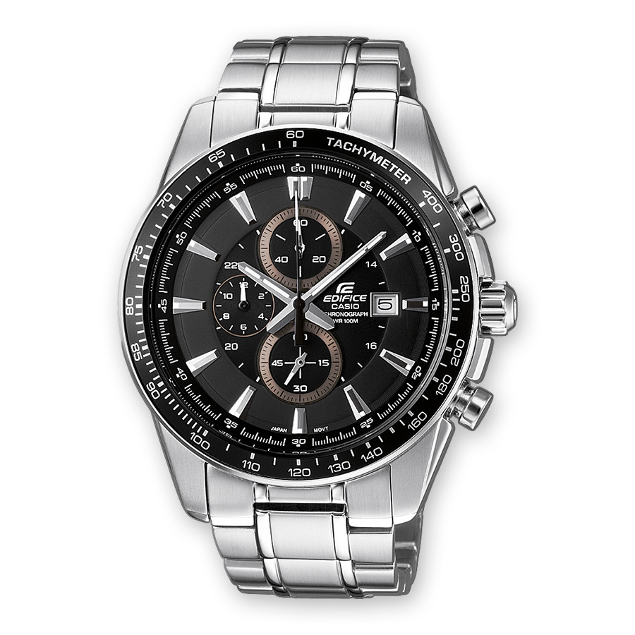 CASIO Edifice Chronograph Stainless Steel Bracelet EF-547D-1A1V