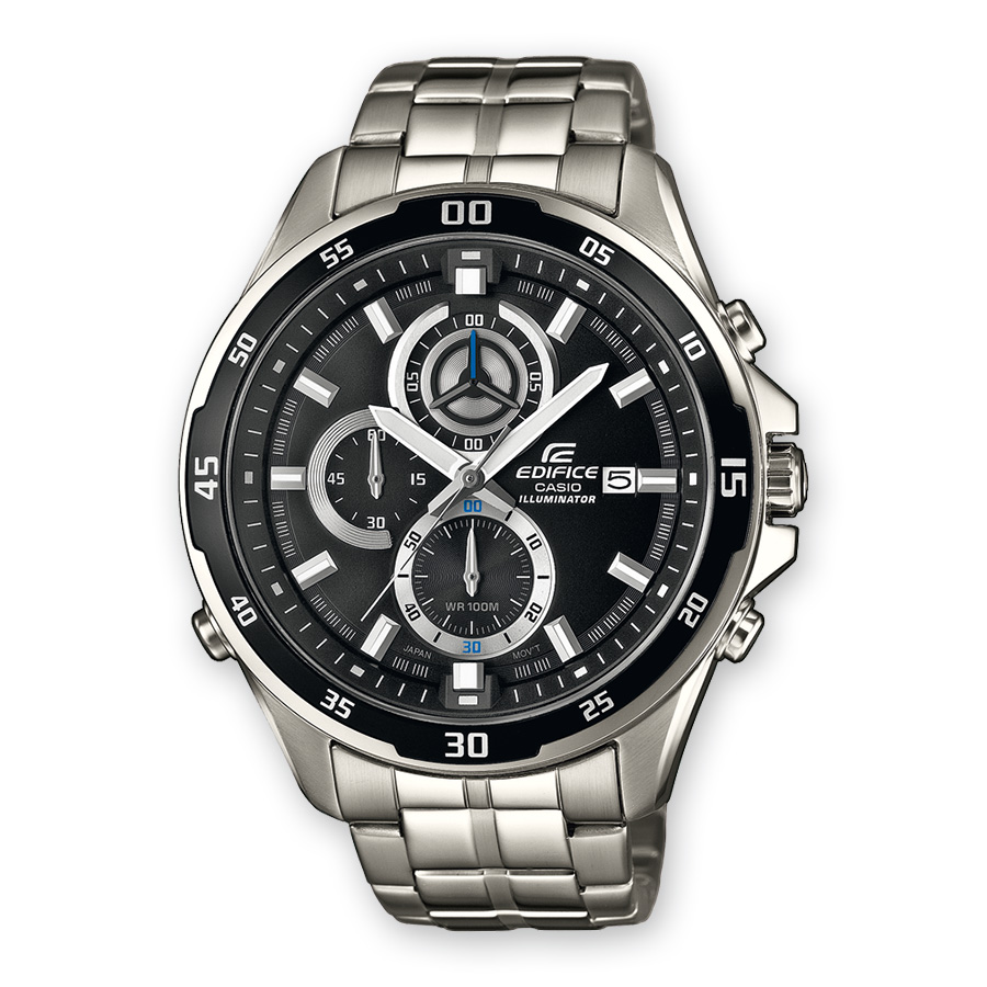 CASIO Edifice Mens Chronograph Stainless Steel Bracelet EFR-547D-1AVUEF