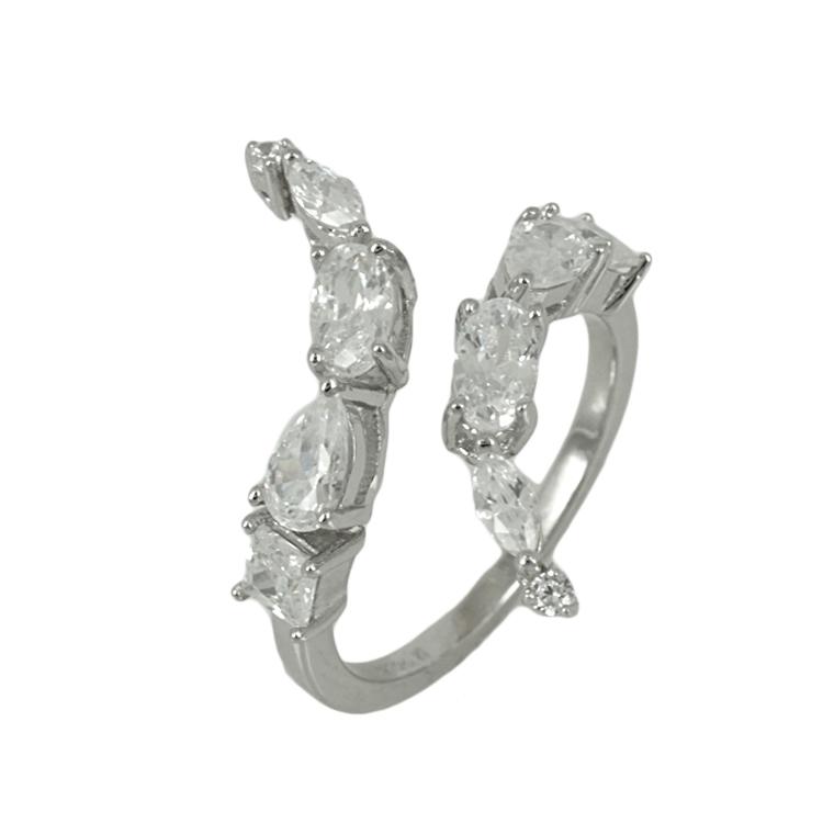 Jools Ασημένιο Δαχτυλίδι JR779.1