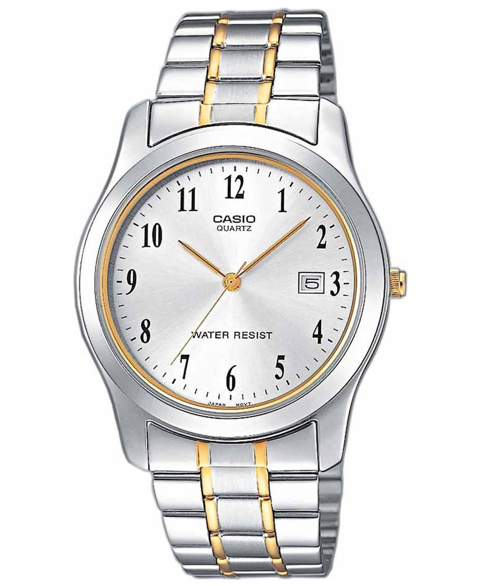 CASIO Collection Two-Tone Stainless Steel Bracelet LTP-1264PG-7BEF