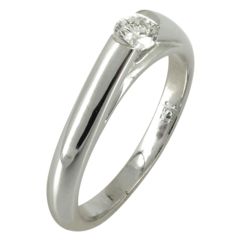 Μονόπετρο Δαχτυλίδι Κ18 με Διαμάντι Brilliant DDX136