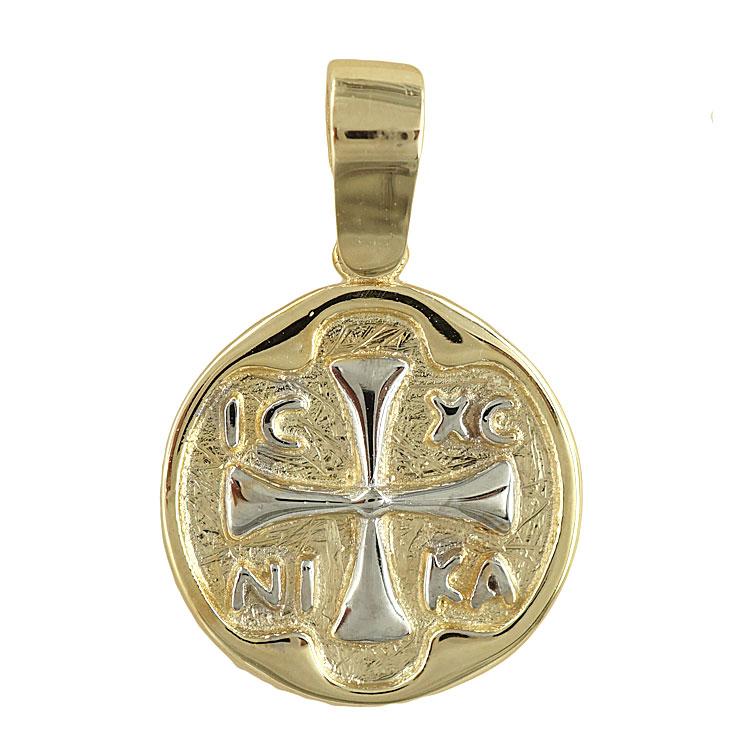 Δίχρωμο Χρυσό Κωνσταντινάτο Κ14 KN141