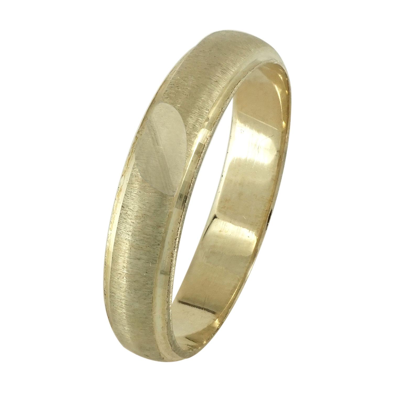 Κίτρινη Χρυσή Βέρα Γάμου WR106 k9