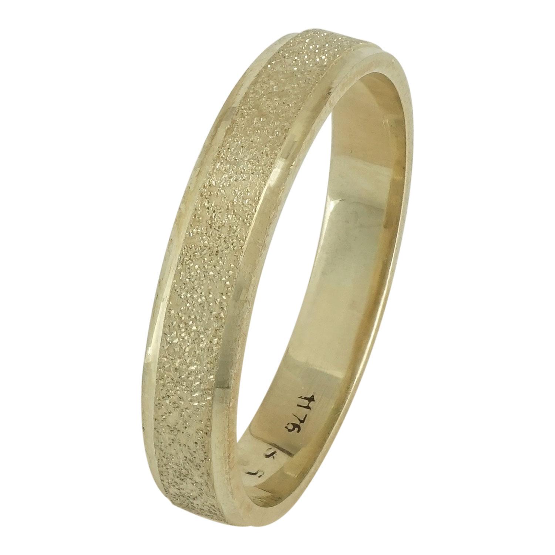 Κίτρινη Χρυσή Βέρα Γάμου WR109 k14