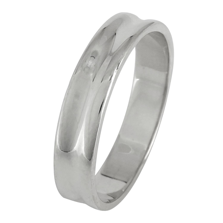 Λευκόχρυση Βέρα Γάμου WR123 k18