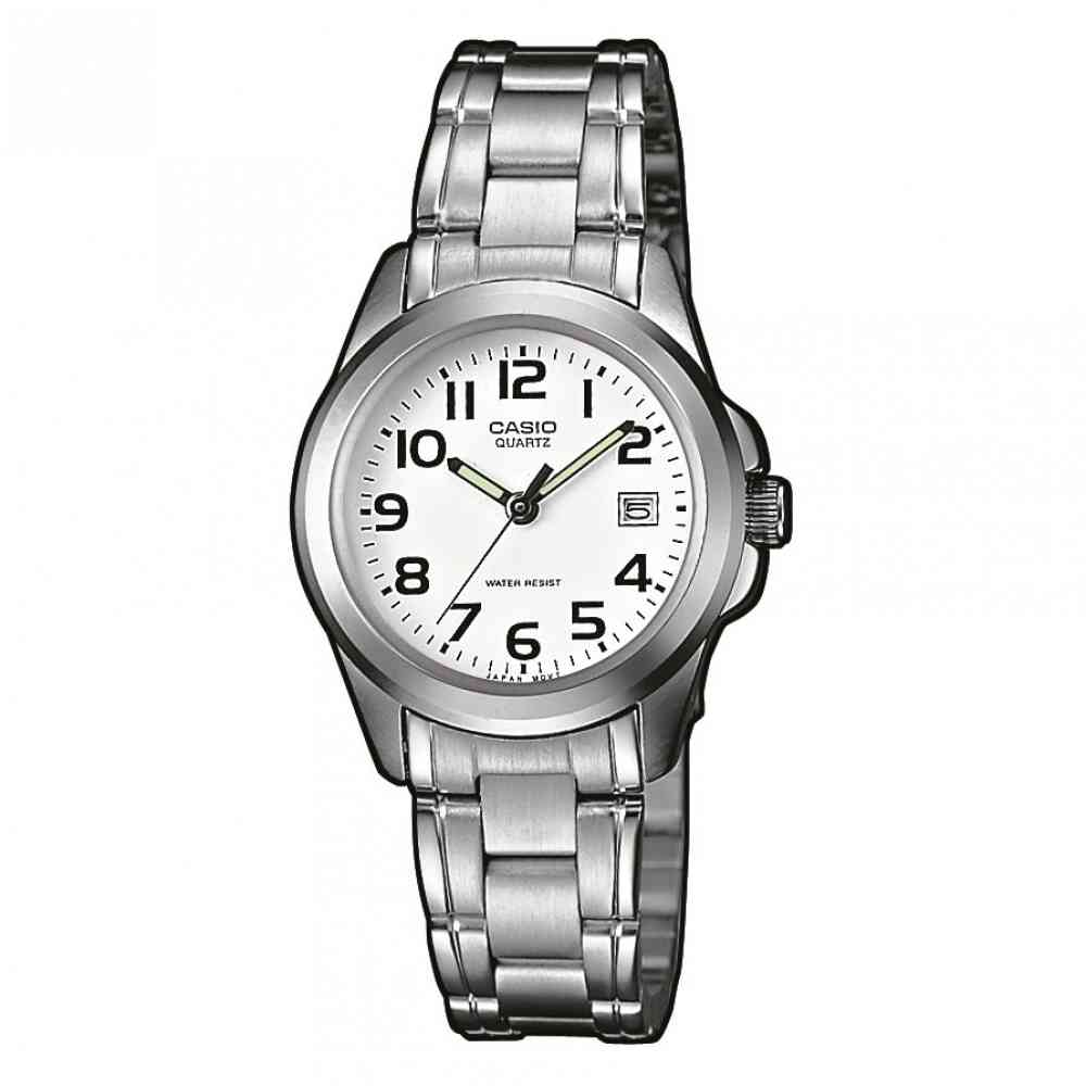 CASIO Collection Stainless Steel Bracelet LTP-1259PD-7BEF