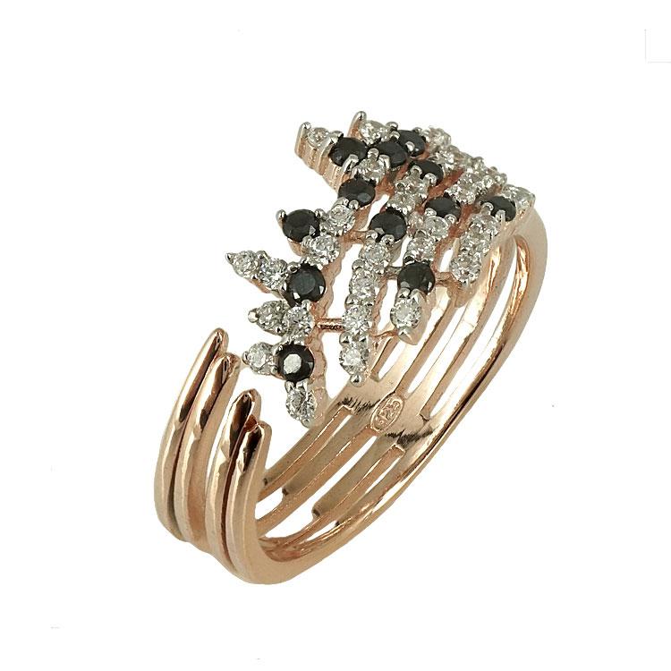 Jools Ασημένιο Ροζ Επιχρυσωμένο Δαχτυλίδι TR908275.1