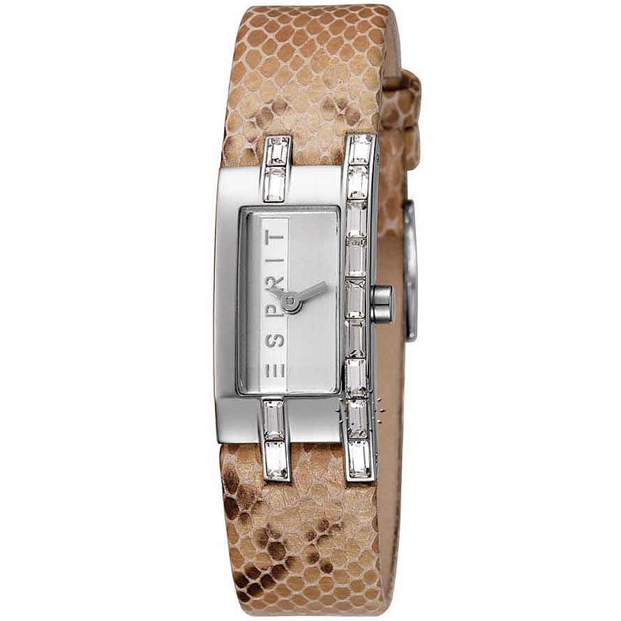ESPRIT Pico Brown Snake Leather Strap ES103182001
