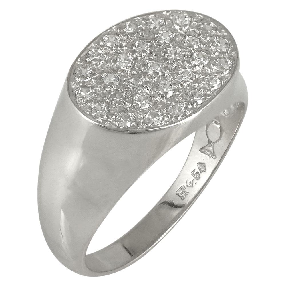 Λευκόχρυσο Δαχτυλίδι Chevalier Κ9 DX428
