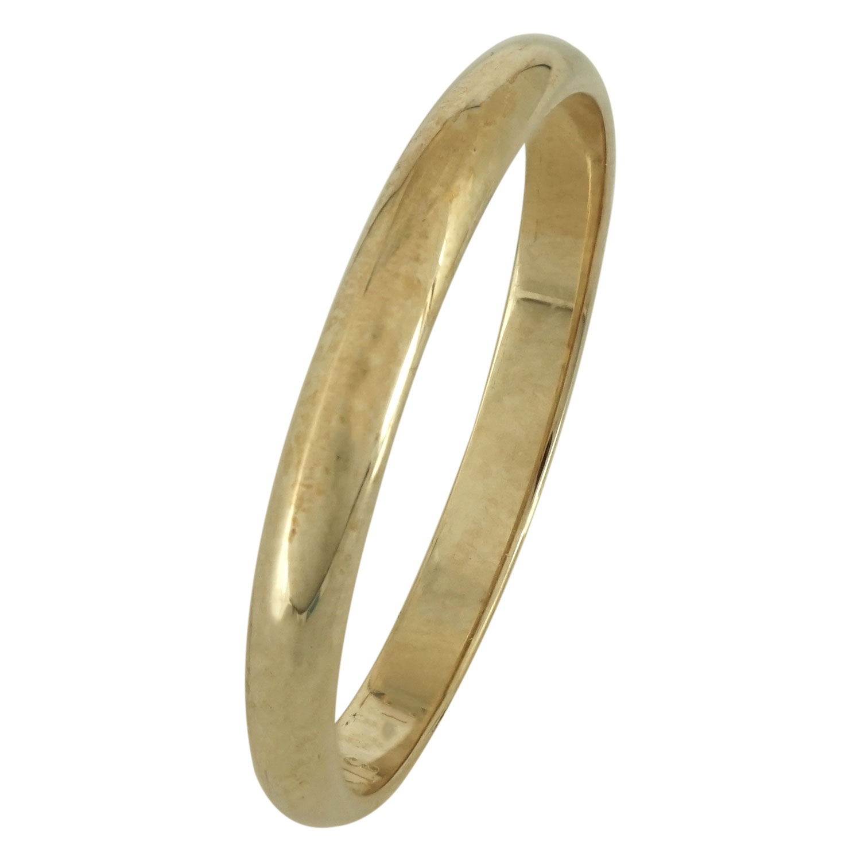 Κίτρινη Χρυσή Βέρα Γάμου WR163 k14