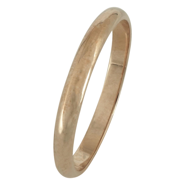Ροζ Χρυσή Βέρα Γάμου WR163R k14