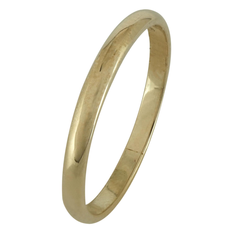 Κίτρινη Χρυσή Βέρα Γάμου WR164 k14