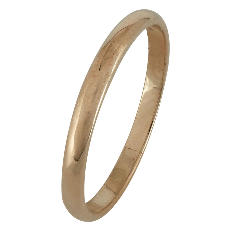 Ροζ Χρυσή Βέρα Γάμου WR164R k14
