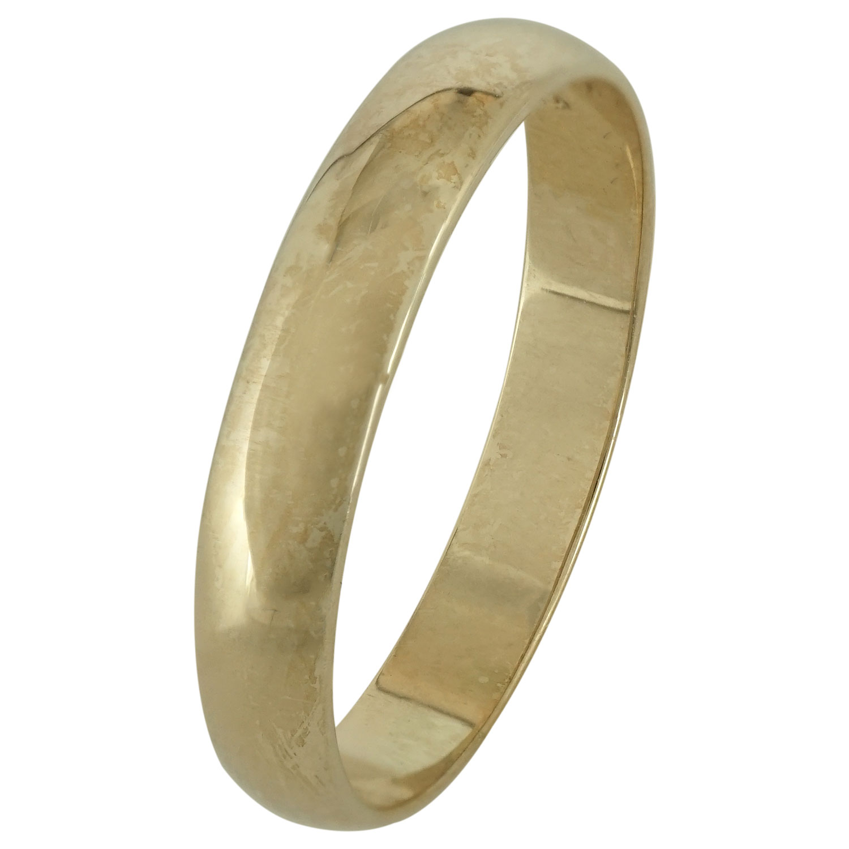Κίτρινη Χρυσή Βέρα Γάμου WR165 k9