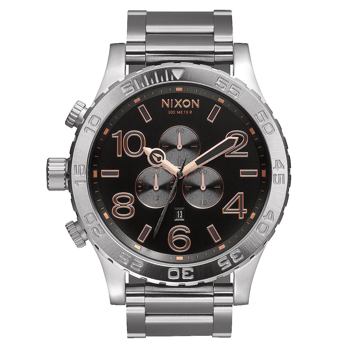 NIXON 51-30 Chrono Stainless Steel Bracelet A083-2064