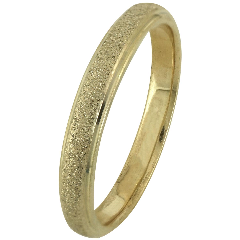 Κίτρινη Χρυσή Βέρα Γάμου WR173 k14