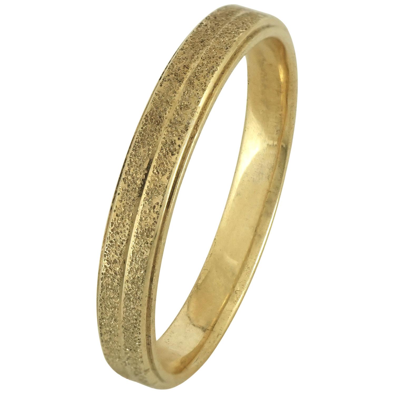 Κίτρινη Χρυσή Βέρα Γάμου WR176 k9
