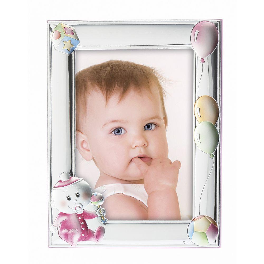Princelino Ασημένια Παιδική Κορνίζα για Κορίτσι RNZ109