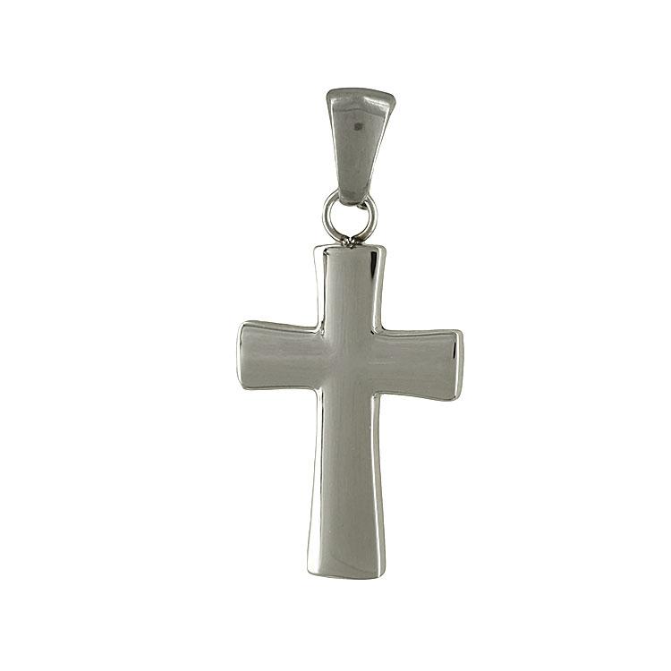 Ανδρικός Σταυρός από Ατσάλι AST119