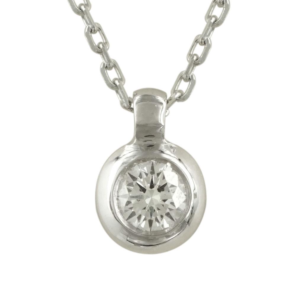 Μενταγιόν με Διαμάντι Brilliant Από Λευκόχρυσο Κ18 P5607