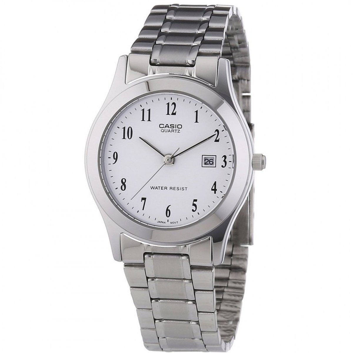 CASIO Collection Stainless Steel Bracelet LTP-1141PA-7BEF