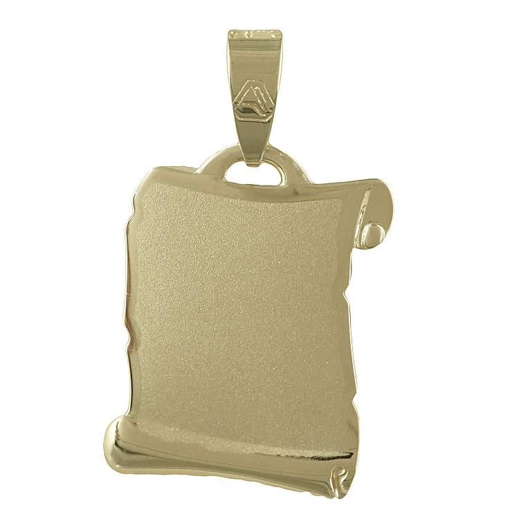 Κίτρινη Χρυσή Ταυτότητα Μενταγιόν Κ9 TM101