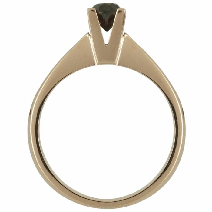 Μονόπετρο Δαχτυλίδι Κ18 με Διαμάντι Brilliant R17440  f0bd1a6b729