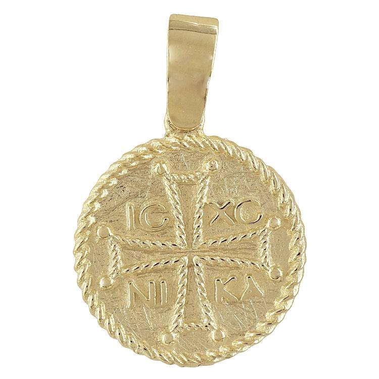 Κίτρινο Χρυσό Κωνσταντινάτο Κ14 KN166