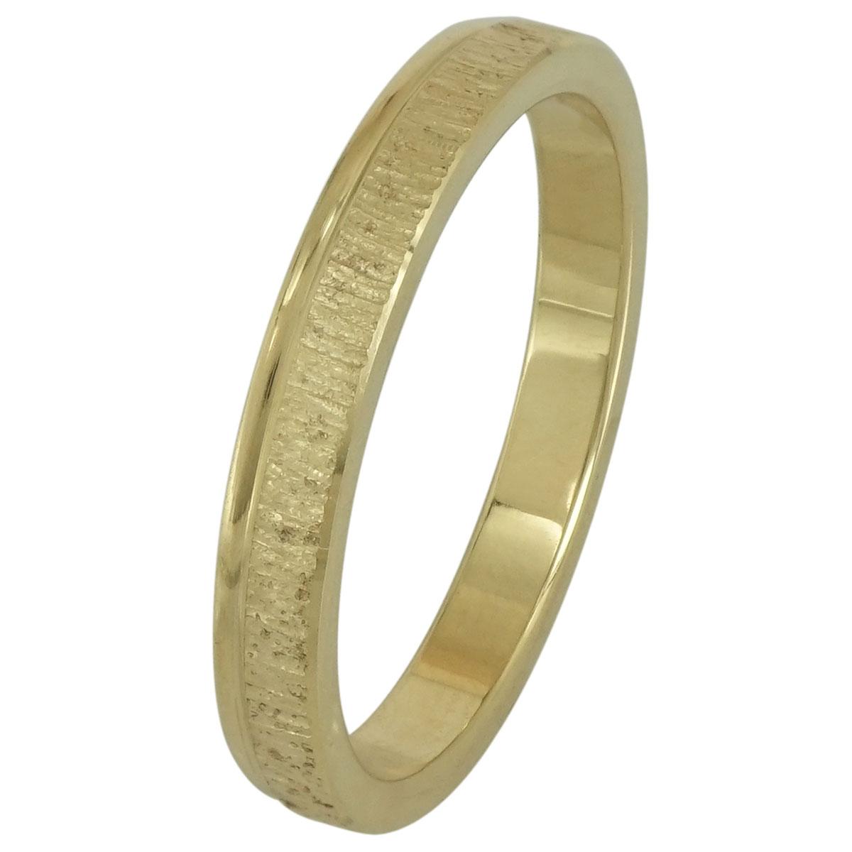 Κίτρινη Χρυσή Βέρα Γάμου WR190 k14