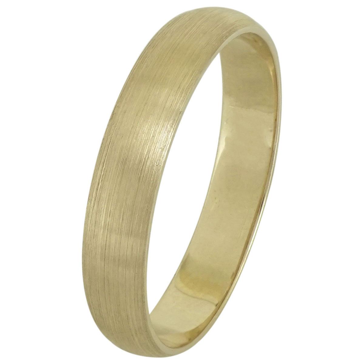 Κίτρινη Χρυσή Βέρα Γάμου WR194 k9