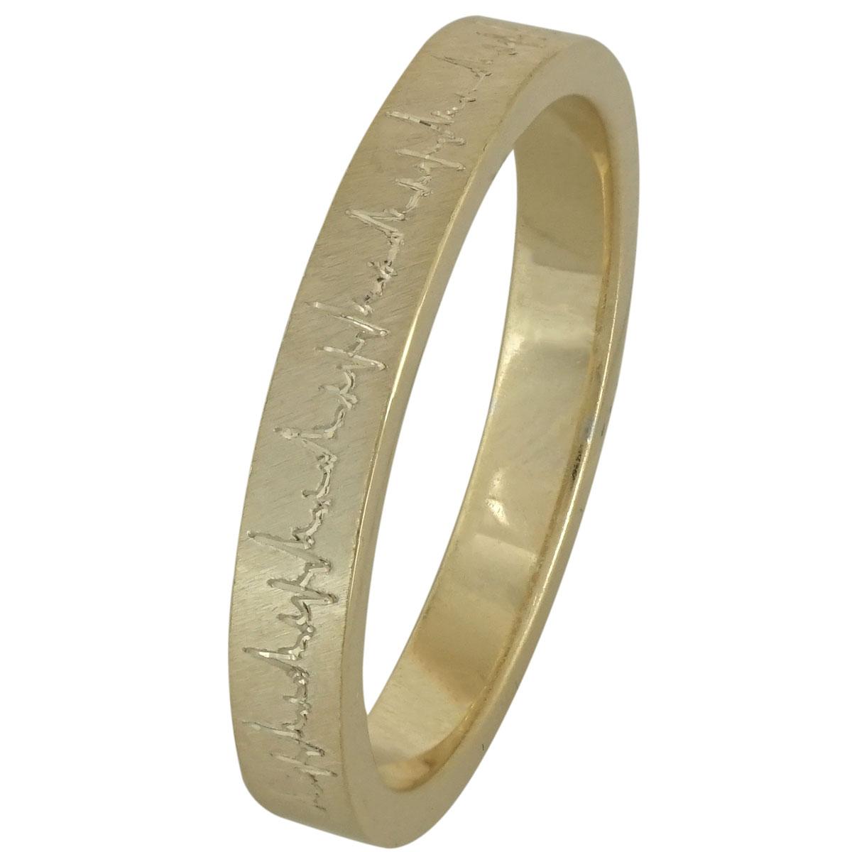 Κίτρινη Χρυσή Βέρα Γάμου WR200 k9