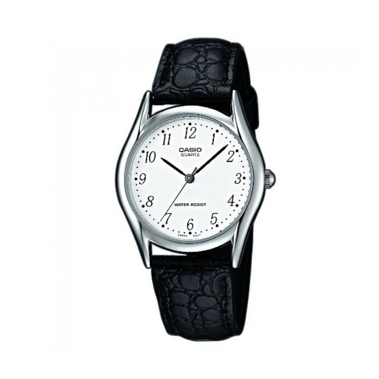 CASIO Collection Black Leather Strap LTP-1154PE-7BEF