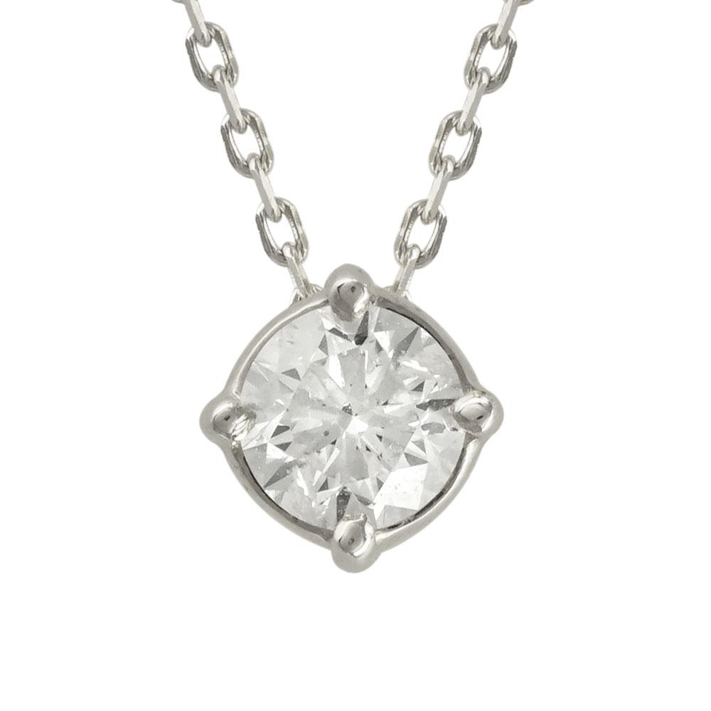 Μενταγιόν με Διαμάντι Brilliant από Λευκόχρυσο Κ18 P5067