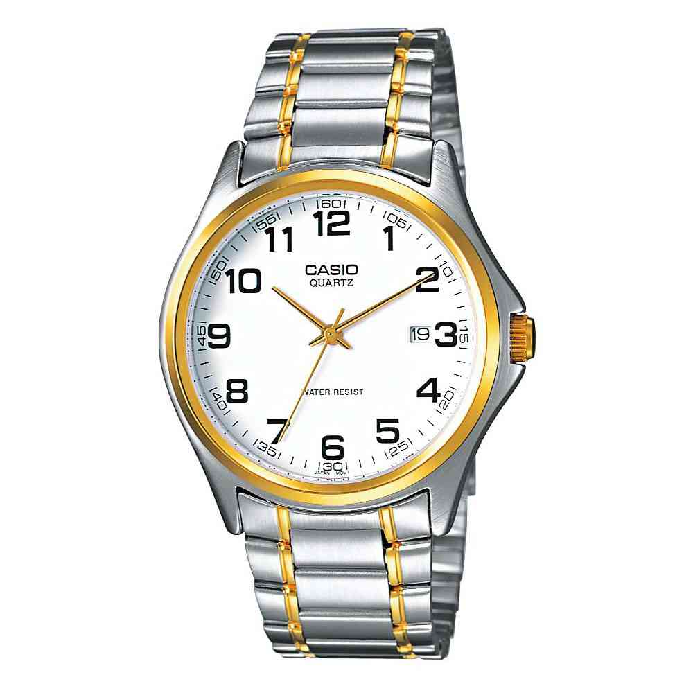 CASIO Collection Two-Tone Stainless Steel Bracelet MTP-1188PG-7BEF