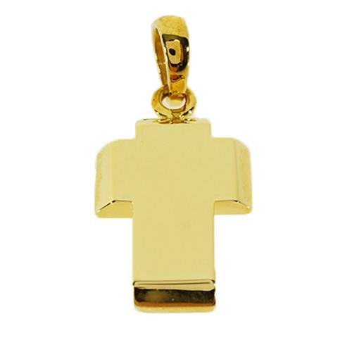 Σταυρός Βάπτισης 18Κ Κίτρινος Χρυσός Ανδρικός ST618