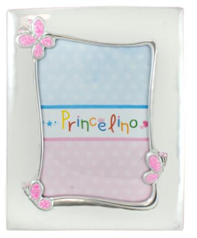 Princelino Ασημένια Παιδική Κορνίζα για Κορίτσι MΒ/125D-R