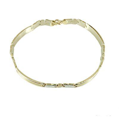 Ανδρικό Βραχιόλι-Χειροπέδα Χρυσό