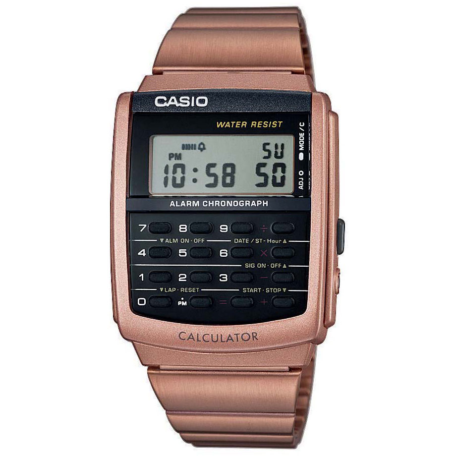 CASIO Collection Rose Gold Stainless Steel CA-506C-5AER