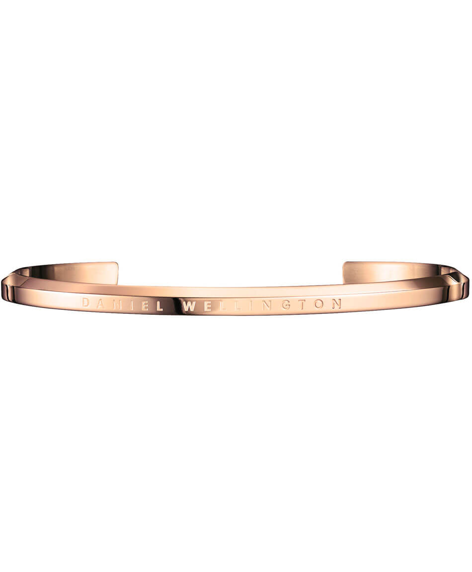 DANIEL WELLINGTON Classic Cuff Rose Gold Stainless Steal Large DW00400001