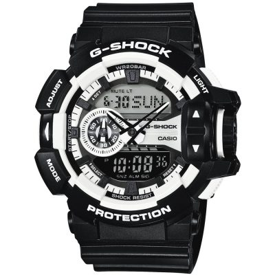 CASIO G-SHOCK Black Rubber Strap GA-400-1AER