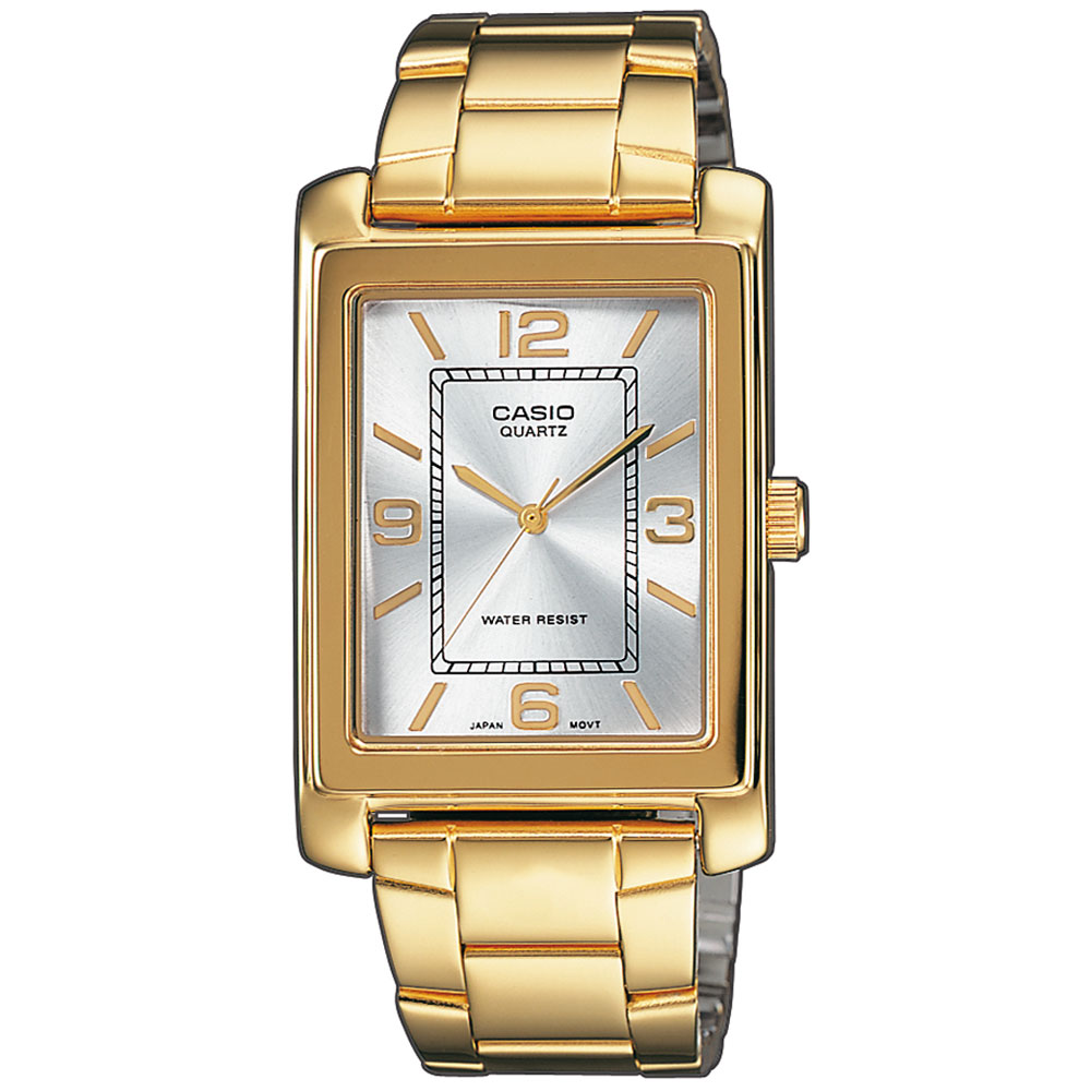 CASIO Collection Gold Plated Stainless Steel Bracelet LTP-1234PG-7AEF