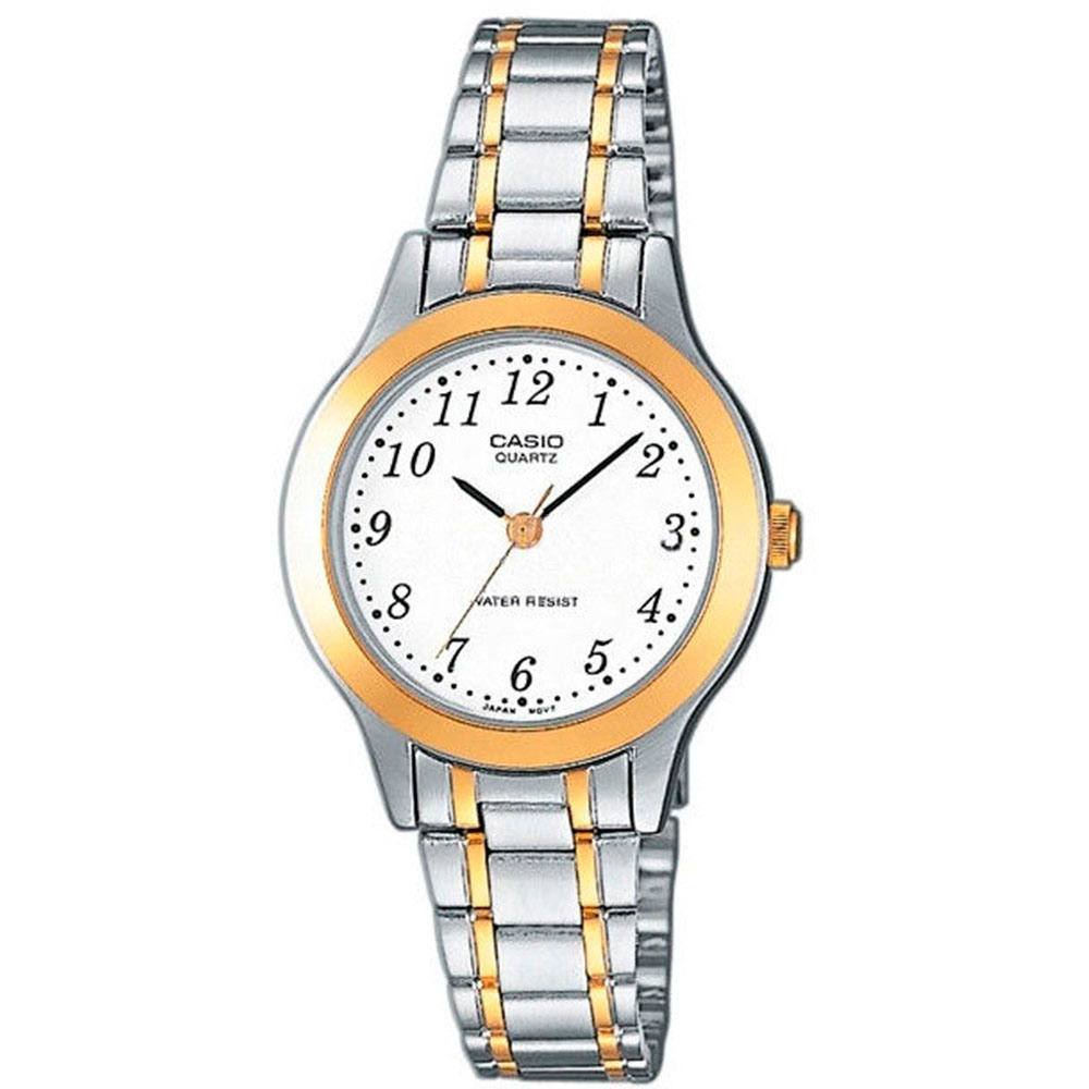 CASIO Collection Two Stainless Steel Bracelet LTP-1263PG-7BEF