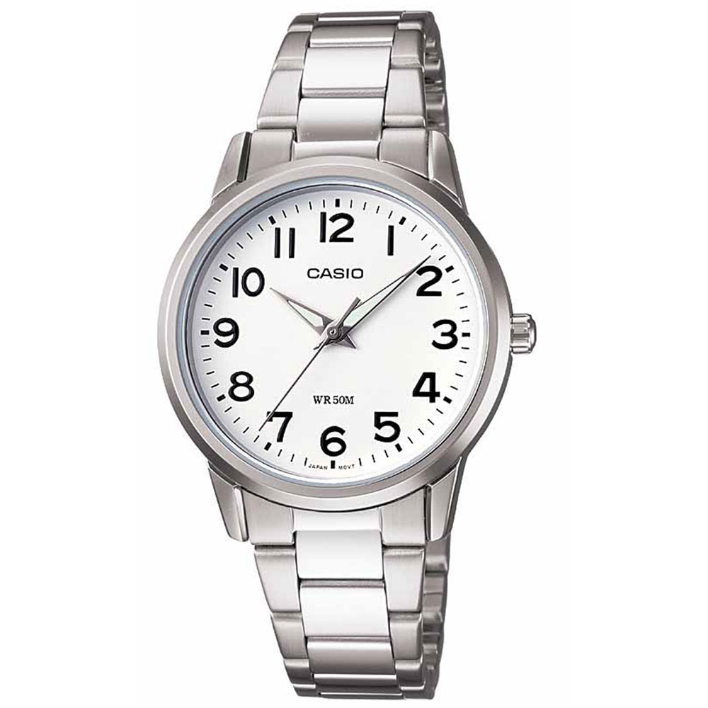 CASIO Collection Stainless Steel Bracelet LTP-1303PD-7BVEF