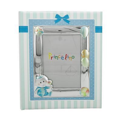 Princelino Παιδικό Δερμάτινο Άλμπουμ για Αγόρι με Κορνίζα MA/A130L-C
